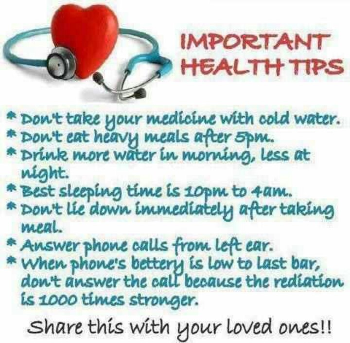 health advice