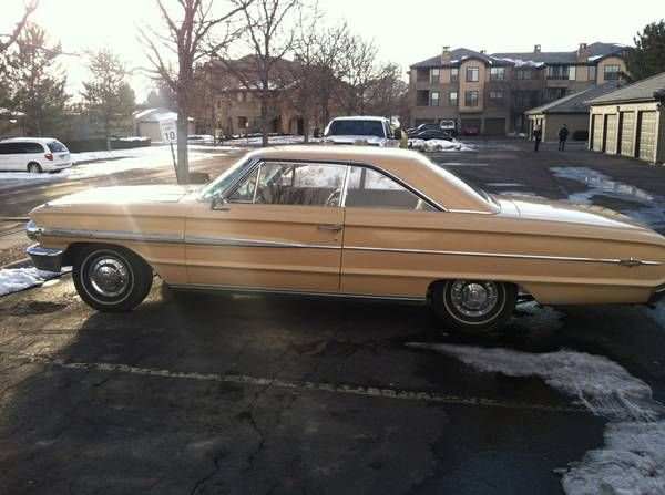 1964 Ford Galaxie 500 Xl Ratrods Pinterest