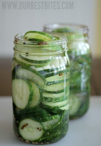 Refrigerator Pickles. Not too complicated and super rewarding to make ...