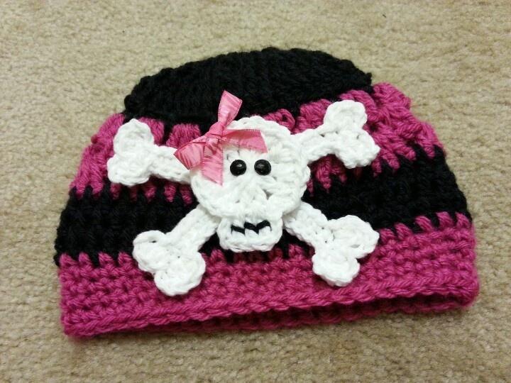 Crochet skull cap knitting and crochet Pinterest