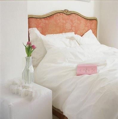 peachy pink + white (so dreamy)