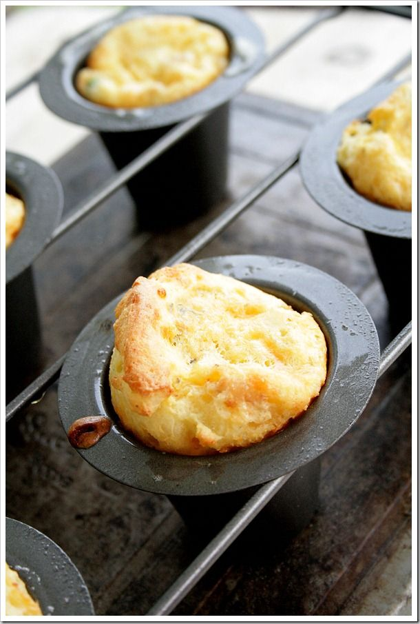 Cheese, sausage & hash brown popovers | Breakfast | Pinterest