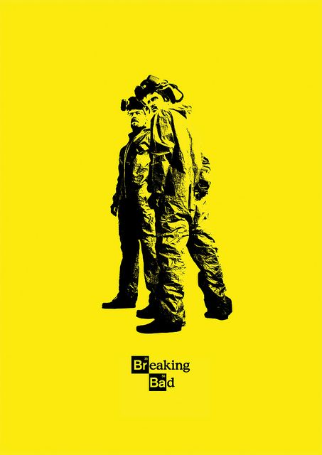 Breaking Bad Poster Yellow | Flickr - Photo Sharing!