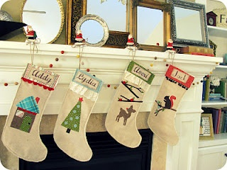 A place for Amy: Homemade Stocking Tutorial