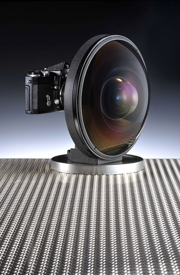 world widest lens by Nikon.