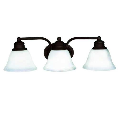 Orleans Oil Rubbed Bronze Three Light Bath Fixture Maxim Lighting Int