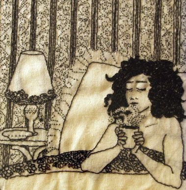 Cozy Coffee Embroidery= Magic