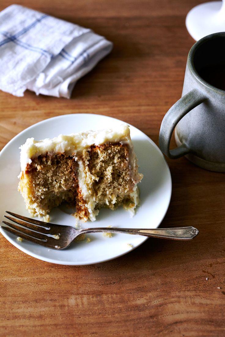 Gluten-free Coconut Layer Cake // Sassy Kitchen