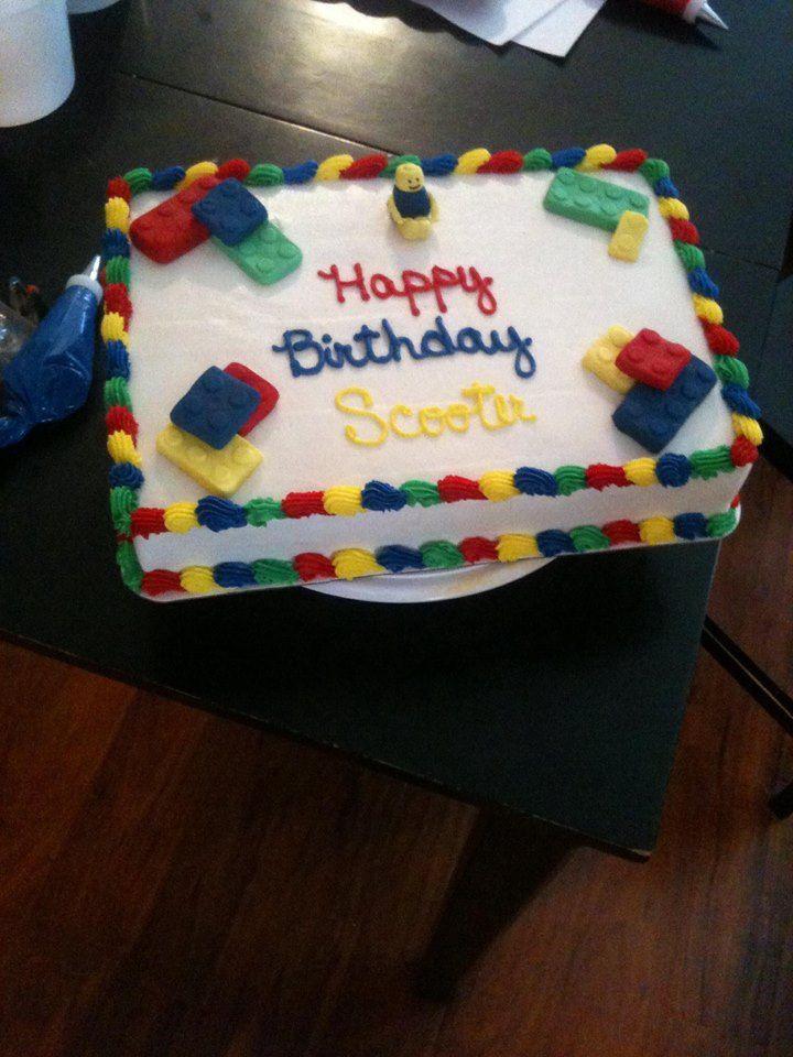 legos cakes ideas