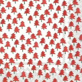 Tree pattern napkins