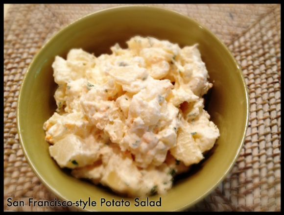 how to cut eggs for potato salad