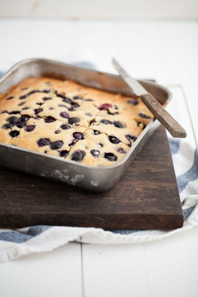 Blueberry Maple Corn Cake | Recipe