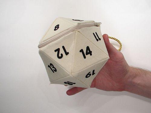 d20 dice bag pattern