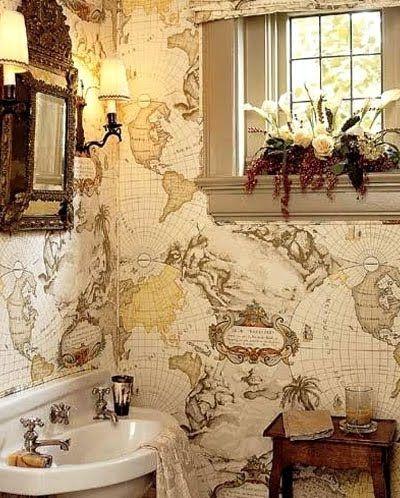 Nautical Bathroom Decorating Ideas Nautical Pinterest