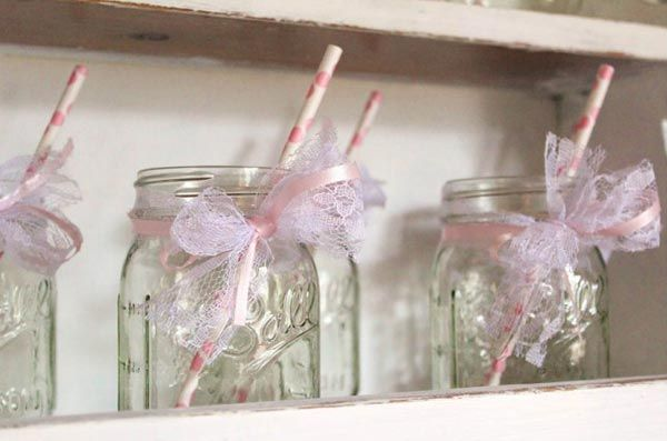 mason jars baby shower pinterest