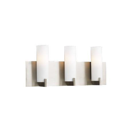 Palos Opal Glass 18 Wide ADA Bathroom Light Fixture
