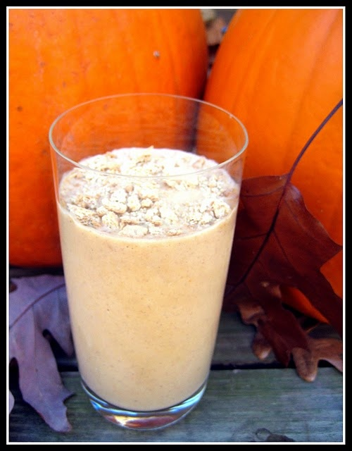 Pumpkin Pie Milkshake | Fall! | Pinterest