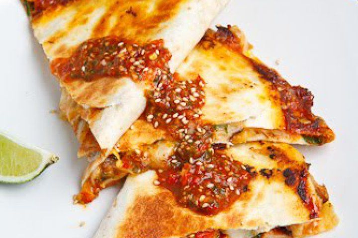 Sweet Chili Chicken Quesadilla | Marvellous Meat, Poultry and Sea Foo ...