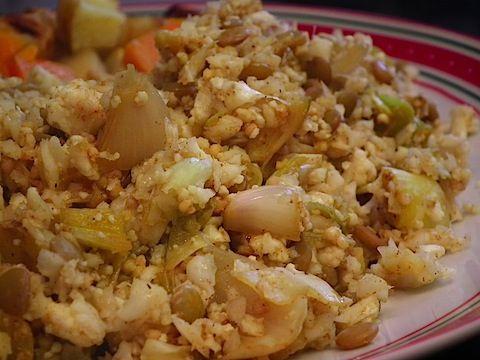 Curried Cauliflower Rice & Lentils | Favorite Recipes | Pinterest