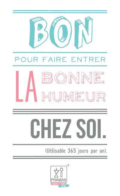 Bon de Bonne Humeur Vœux 2014 © Pramax* - 2014.