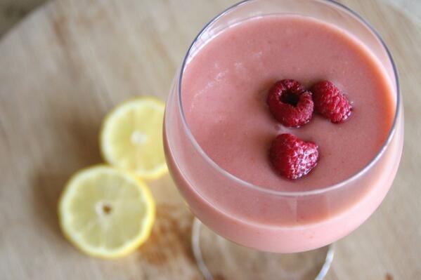 Pistachios, yogurt, rosewater, raspberries, bananas, avocado, honey ...