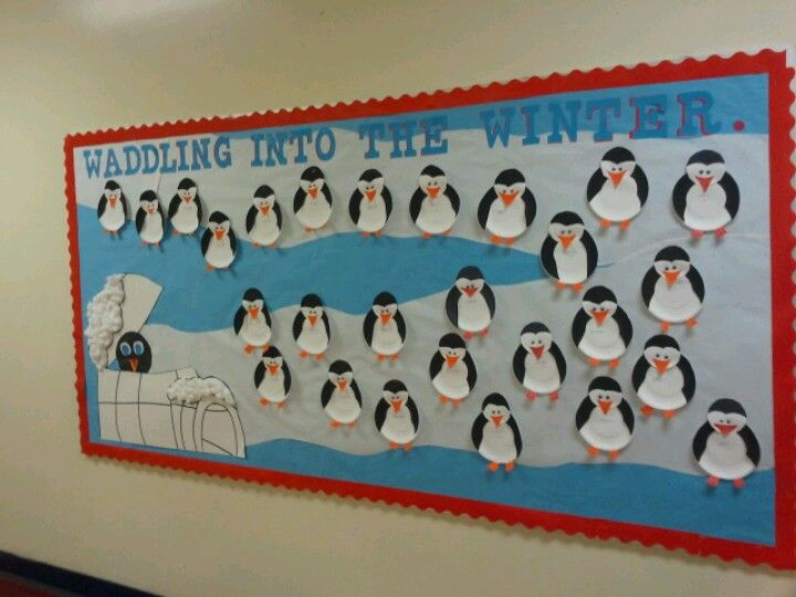 Penguin Bulletin Boards Ideas