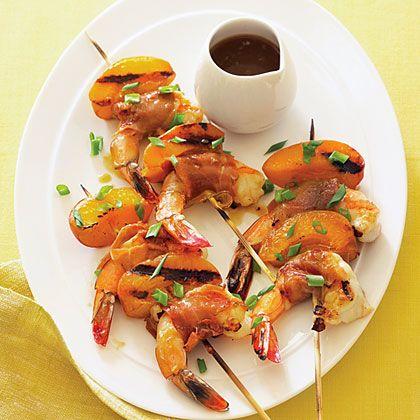 Apricot Shrimp Skewers   Recipe