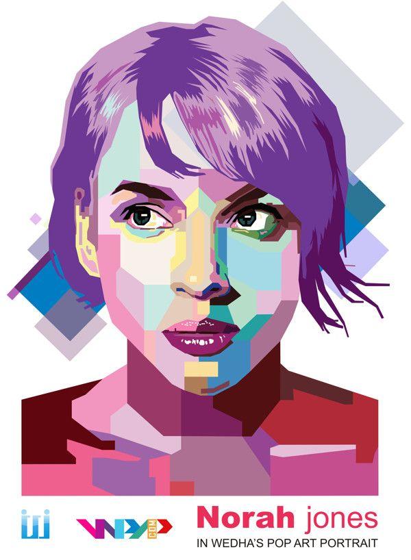Pop art портрет