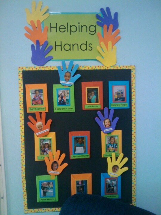 Classroom Job Ideas For Kindergarten : Job chart preschool pinterest