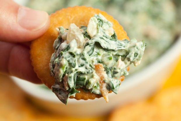 Fresh Spinach Dip | Recipe