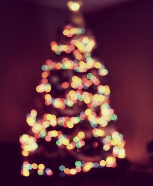 christmas tree lights iphone wallpaper wallpapers phone