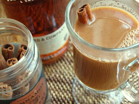 Hot buttered cider w rum kerry, with your K Cups