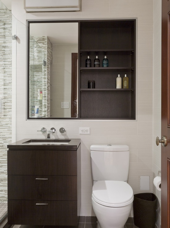 Recessed Medicine Cabinet Sliding Mirrored Doors Bathroom Ideas Pinterest