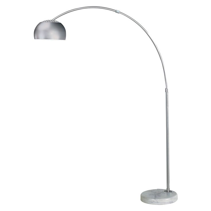 Brushed Nickel Floor Lamp Ikea ~ TFA8005 Trend Lighting TFA8005 Floor Lamp, Brushed Nickel