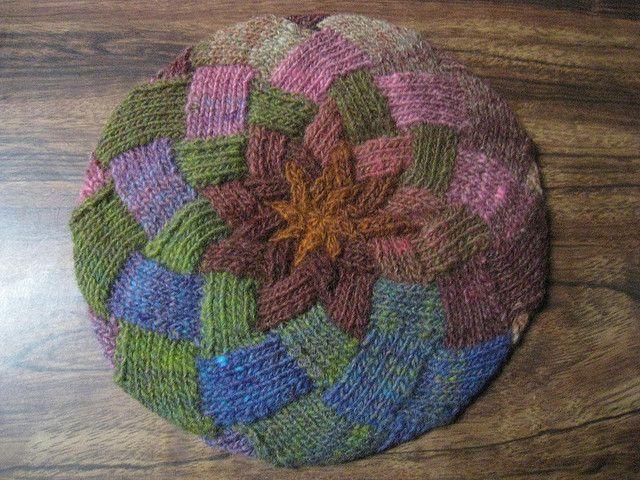 Knitting Pattern Entrelac Hat : Entrelac tam by heidilehman, via Flickr DIY- knitting and crochet
