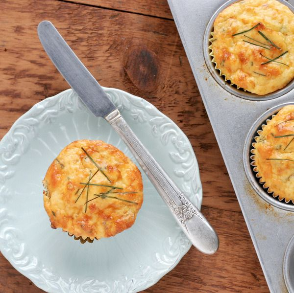 Cottage Cheese And Egg Breakfast Muffins Recipe With Ham And Cheddar ...