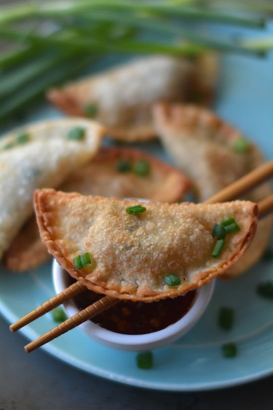 Easy Crispy Pork Wontons- these are a family favorite and my mom has ...
