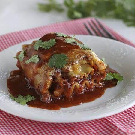 Mexican Lasagna Roll Ups | Recipe