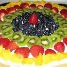 Fruit Pizza II | desserts | Pinterest
