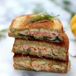 Smoked Salmon & Gruyere Grilled Cheese | Get Grilled Cheese! | Pinter ...