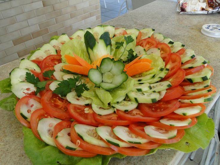 Ideias De Saladas ~ salada para churrasco Ideias para festa na represa Pinterest