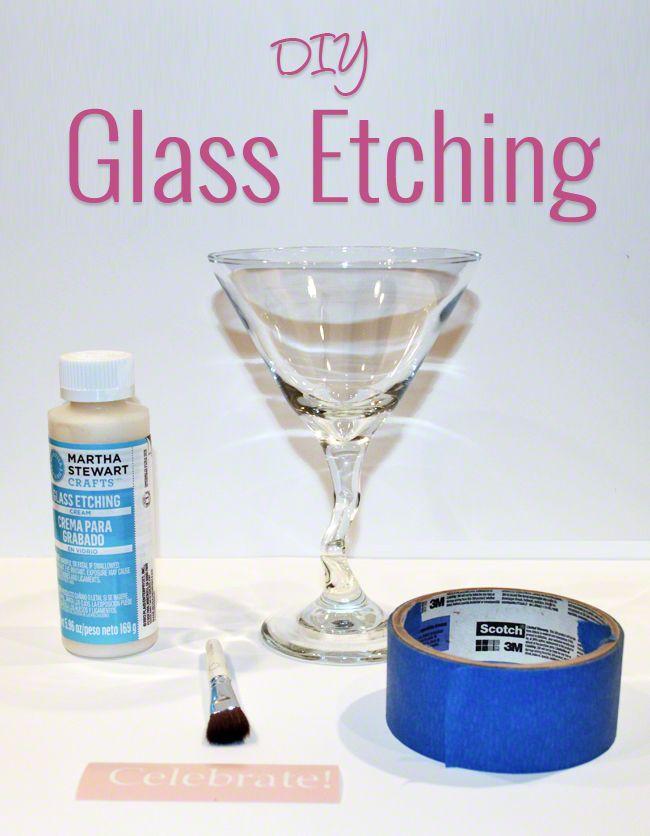 diy glass etching craft ideas pinterest. Black Bedroom Furniture Sets. Home Design Ideas