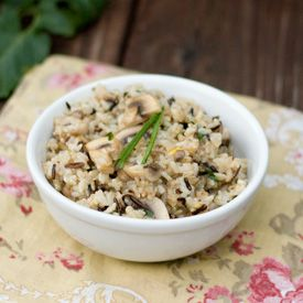Vegan Mushroom and Wild Rice Pilaf | Vegan : Main Dish | Pinterest