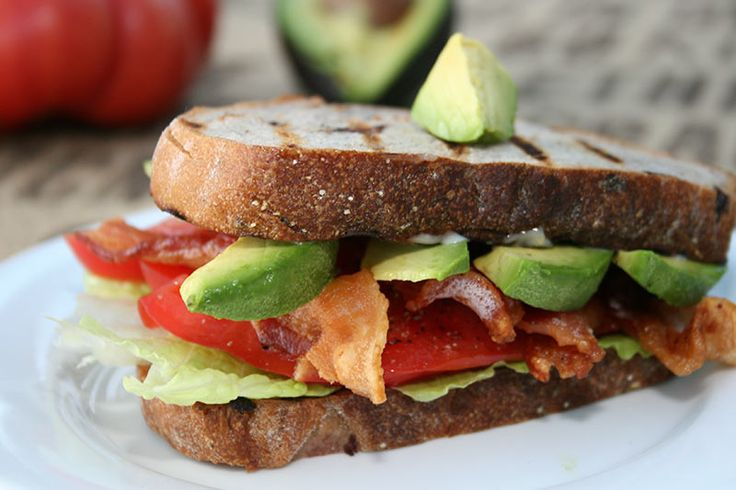 BLT with avocado! | Yum! | Pinterest