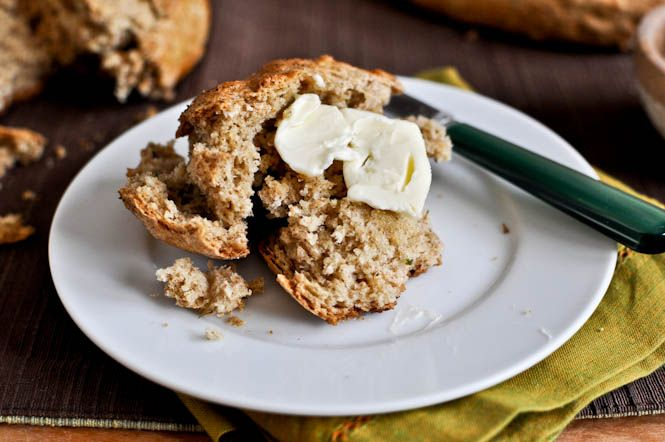 Brown Butter Whole Wheat Soda Bread | Food ~ Bread & Muffins | Pinter ...