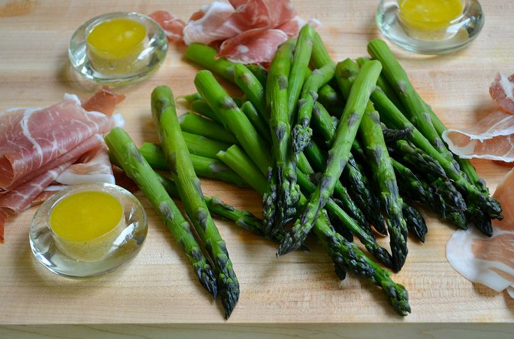 and Prosciutto with Lemon-Shallot Dressing. SAVE! This dressing ...