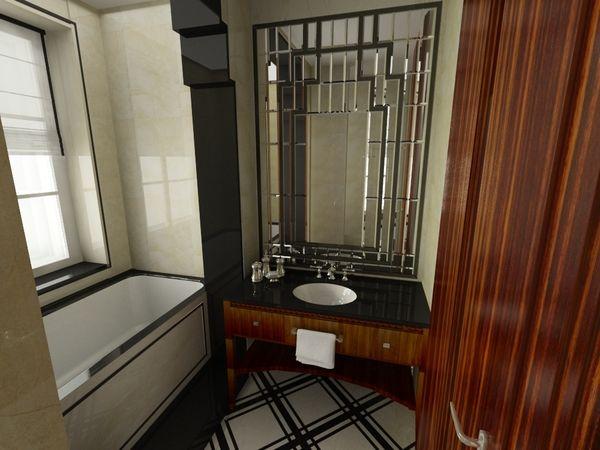 ART DECO Apartment On Behance Sydney Apt Pinterest
