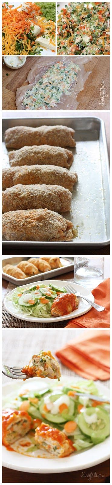 Stuffed Buffalo Chicken Breasts | .:: Best Italian Recipes ::. | Pint ...