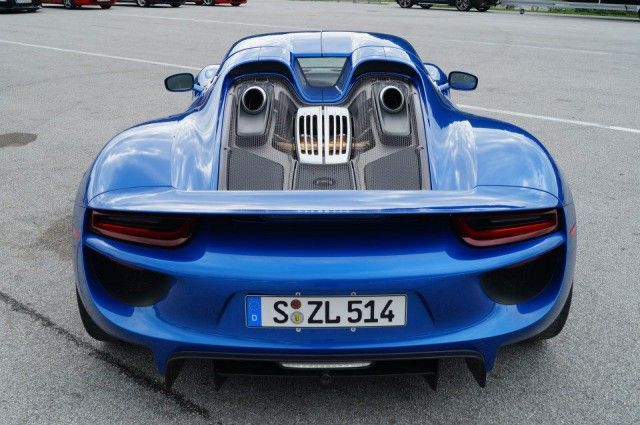 blue porsche 918 spyder cars pinterest. Black Bedroom Furniture Sets. Home Design Ideas
