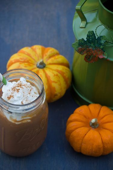 Pumpkin Pie Coffee Milkshakes | Recipe